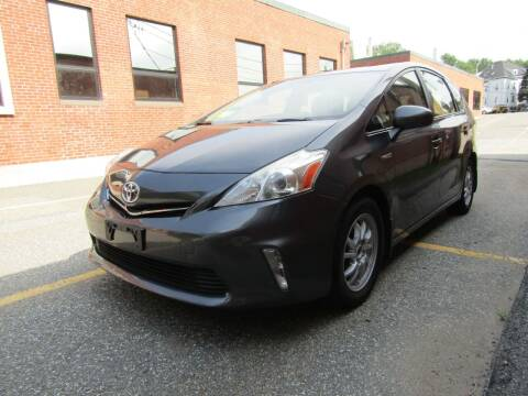 2013 Toyota Prius v for sale at Boston Auto Sales in Brighton MA
