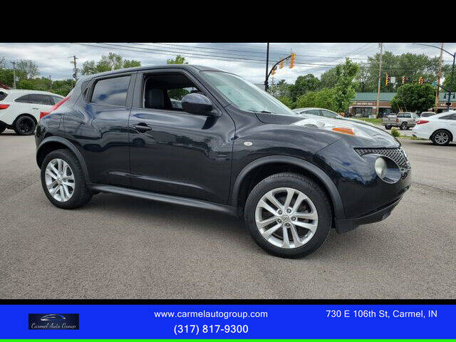 2012 Nissan JUKE for sale at Carmel Auto Group in Indianapolis IN