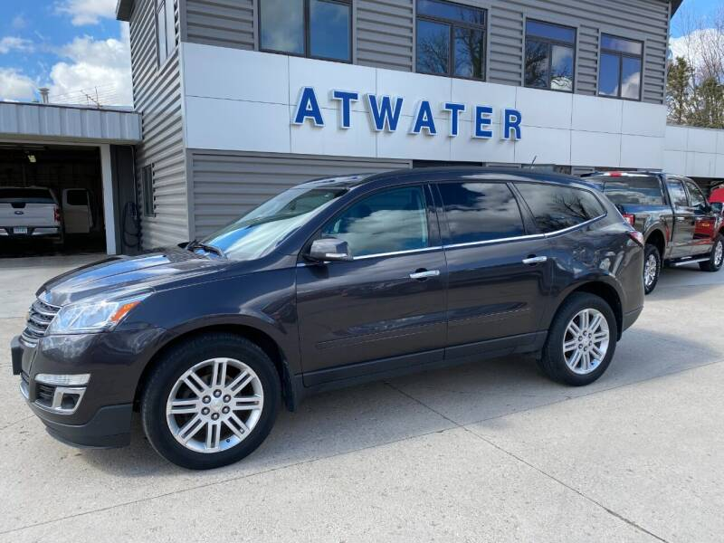 2013 Chevrolet Traverse for sale at Atwater Ford Inc in Atwater MN