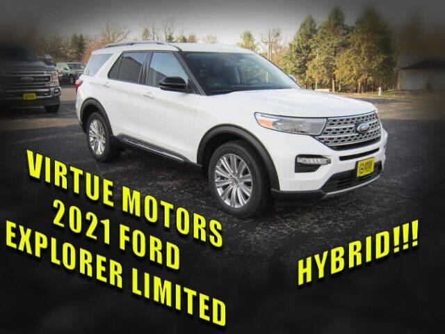 2021 Ford Explorer Hybrid for sale at Virtue Motors in Darlington WI