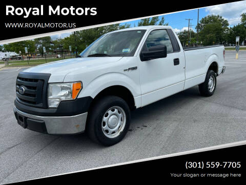 2010 Ford F-150 for sale at Royal Motors in Hyattsville MD