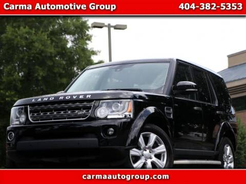 2015 Land Rover LR4 for sale at Carma Auto Group in Duluth GA
