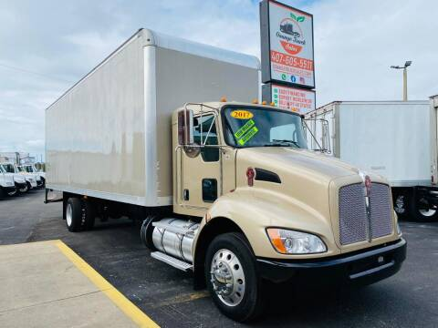 2017 Kenworth T270 for sale at Orange Truck Sales in Orlando FL
