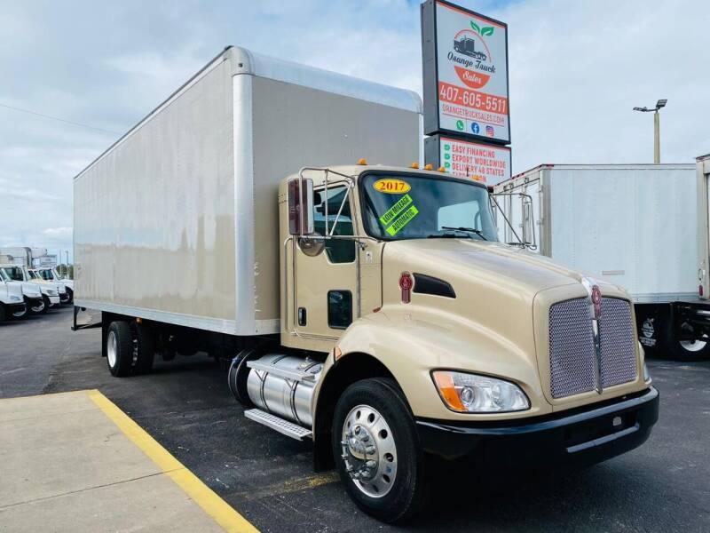 2017 Kenworth T270 for sale at Orange Truck Sales in Orlando FL