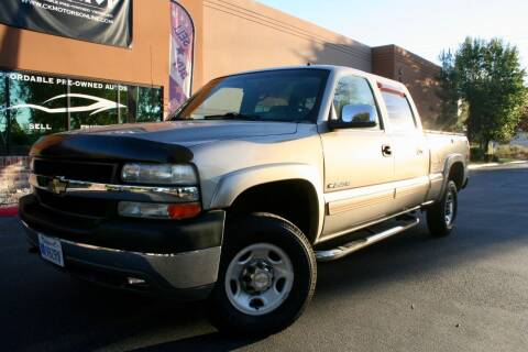 2001 Chevrolet Silverado 2500HD for sale at CK Motors in Murrieta CA