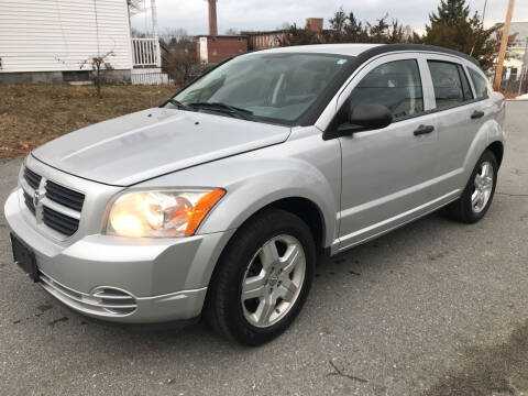 2008 Dodge Caliber for sale at D'Ambroise Auto Sales in Lowell MA