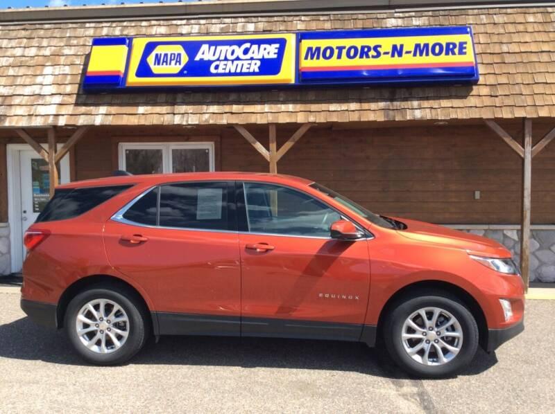 2020 Chevrolet Equinox for sale at MOTORS N MORE in Brainerd MN
