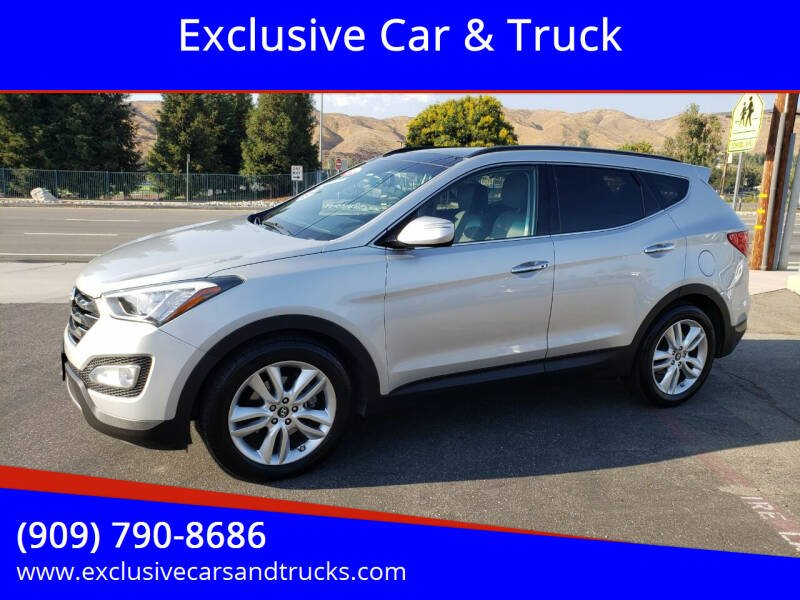 2014 Hyundai Santa Fe Sport for sale at Exclusive Car & Truck in Yucaipa CA