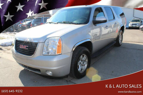 2008 GMC Yukon XL for sale at K & L Auto Sales in Saint Paul MN