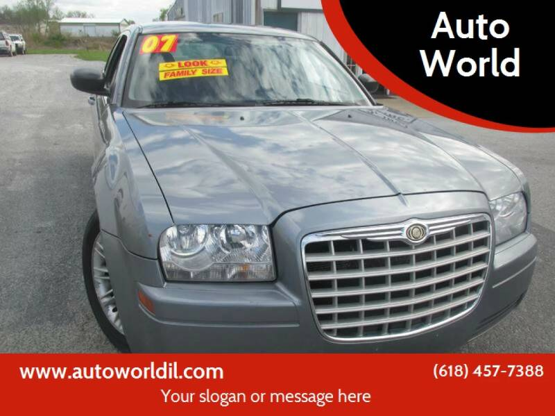 2007 Chrysler 300 for sale at Auto World in Carbondale IL