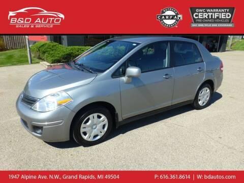 2011 Nissan Versa for sale at B&D Auto Sales Inc in Grand Rapids MI