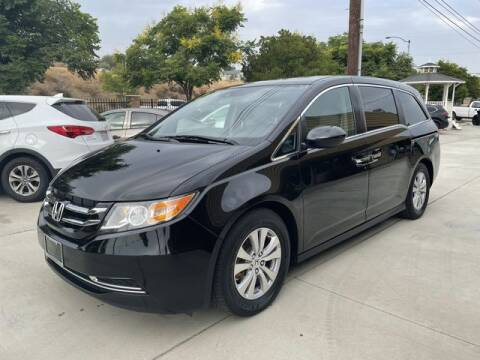 2015 Honda Odyssey for sale at Los Compadres Auto Sales in Riverside CA