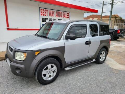 2003 Honda Element for sale at Best Way Auto Sales II in Houston TX