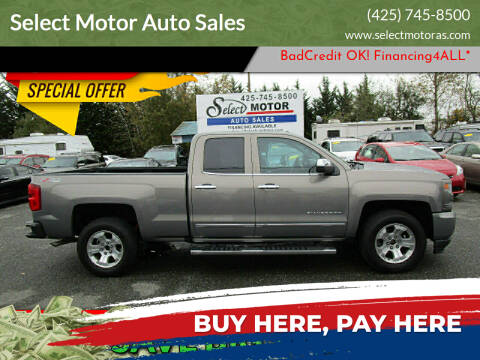 2017 Chevrolet Silverado 1500 for sale at Select Motor Auto Sales in Lynnwood WA