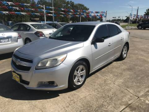 2013 Chevrolet Malibu for sale at AMERICAN AUTO COMPANY in Beaumont TX