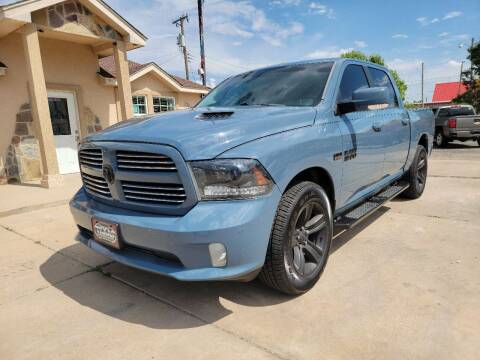 2015 RAM Ram Pickup 1500 for sale at Texas Premiere Autos in Amarillo TX