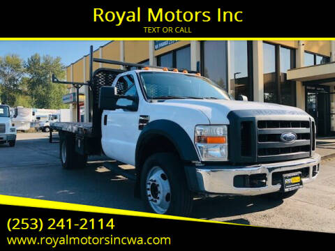 2008 Ford F-450 Super Duty for sale at Royal Motors Inc in Kent WA