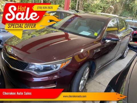 2016 Kia Optima for sale at Cherokee Auto Sales in Acworth GA