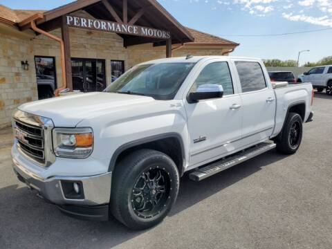 2014 GMC Sierra 1500 for sale at Performance Motors Killeen Second Chance in Killeen TX