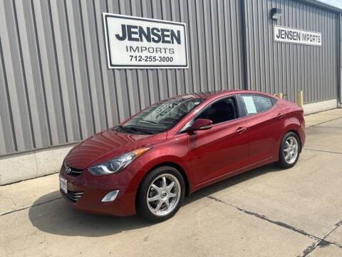 2013 Hyundai Elantra for sale at Jensen's Dealerships in Sioux City IA