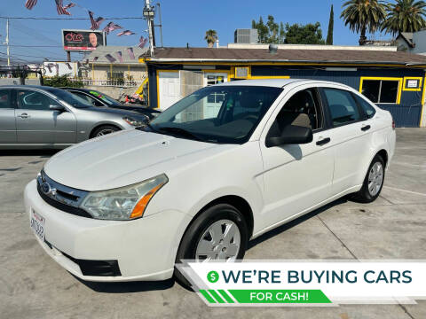 2011 Ford Focus for sale at FJ Auto Sales North Hollywood in North Hollywood CA
