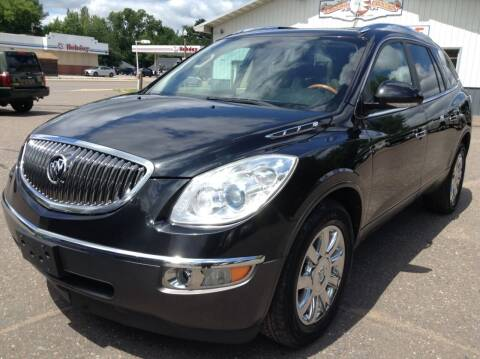 2012 Buick Enclave for sale at Steves Auto Sales in Cambridge MN