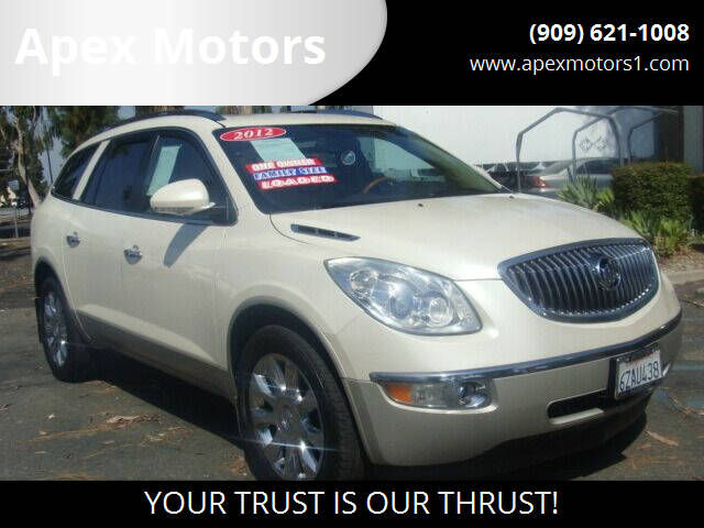 2012 Buick Enclave for sale at Apex Motors in Montclair CA