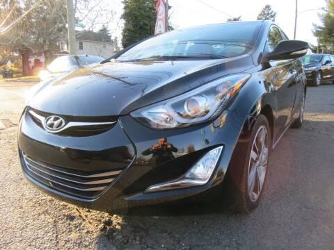 2014 Hyundai Elantra for sale at PRESTIGE IMPORT AUTO SALES in Morrisville PA