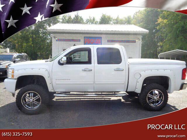 2013 Chevrolet Silverado 1500 for sale at PROCAR LLC in Portland TN