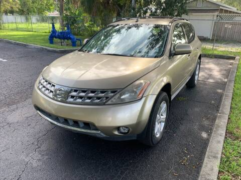 2006 Nissan Murano for sale at Florida Prestige Collection in Saint Petersburg FL