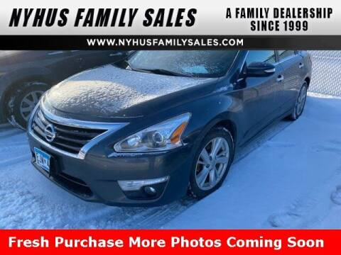 2013 Nissan Altima for sale at Nyhus Family Sales in Perham MN