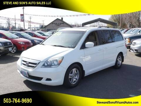 2006 Honda Odyssey for sale at Steve & Sons Auto Sales in Happy Valley OR
