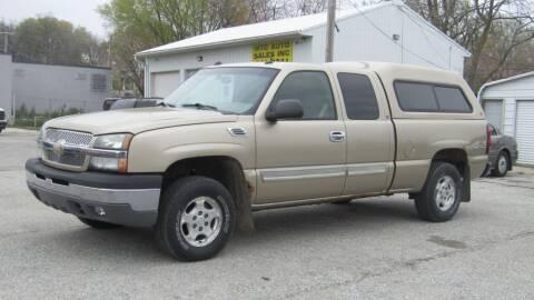 2004 Chevrolet Silverado 1500 for sale at MTC AUTO SALES in Omaha NE