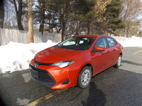 2017 Toyota Corolla for sale at Wayland Automotive in Wayland MA