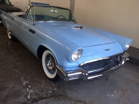 1957 Ford Thunderbird for sale at Milpas Motors Auto Gallery in Ventura CA