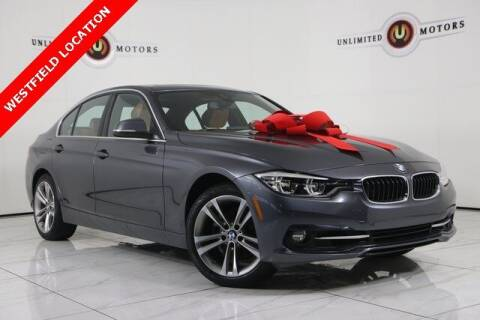 2018 BMW 3 Series for sale at INDY'S UNLIMITED MOTORS - UNLIMITED MOTORS in Westfield IN
