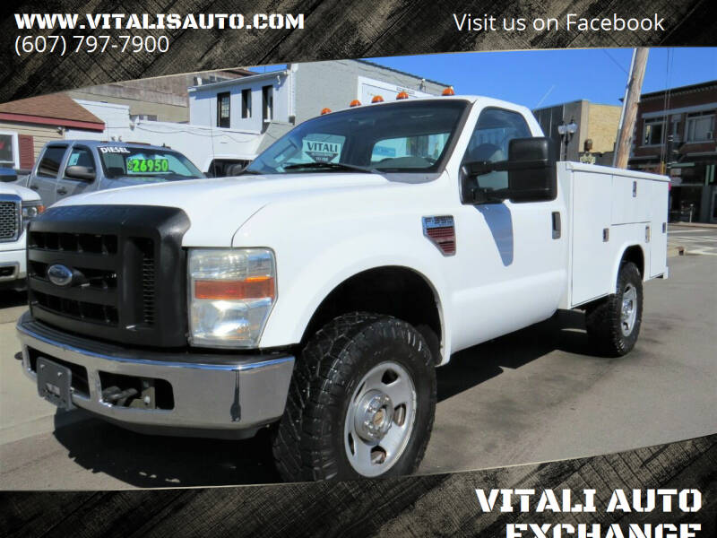 2008 Ford F-350 Super Duty for sale at VITALI AUTO EXCHANGE in Johnson City NY
