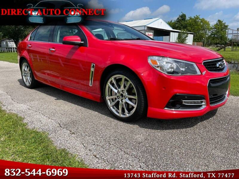 2015 Chevrolet SS for sale in Stafford, TX