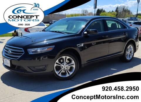 2013 Ford Taurus for sale at CONCEPT MOTORS INC in Sheboygan WI