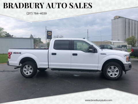 2019 Ford F-150 for sale at BRADBURY AUTO SALES in Gibson City IL