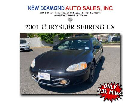 2001 Chrysler Sebring for sale at New Diamond Auto Sales, INC in West Collingswood NJ