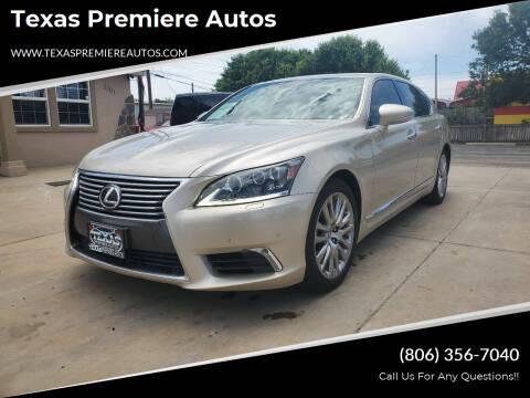 2014 Lexus LS 460 for sale at Texas Premiere Autos in Amarillo TX