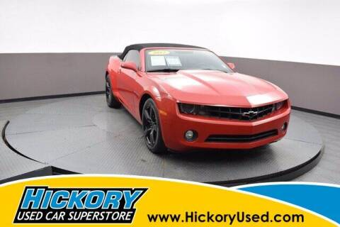 2012 Chevrolet Camaro for sale at Hickory Used Car Superstore in Hickory NC