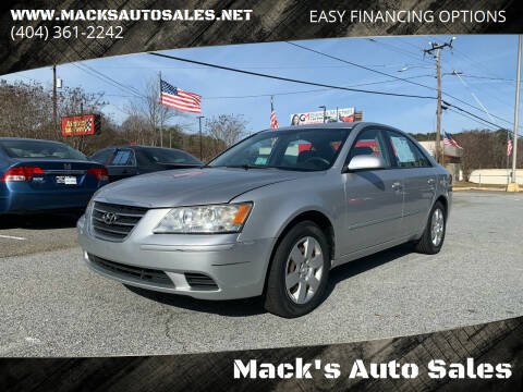2009 Hyundai Sonata for sale at Mack's Auto Sales in Forest Park GA
