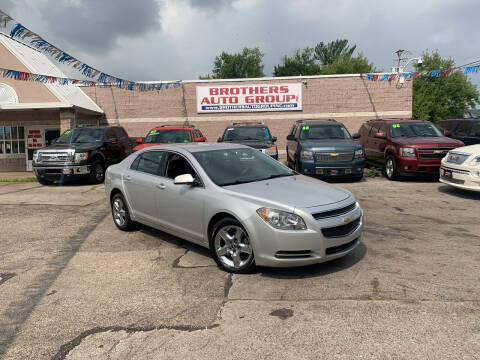2010 Chevrolet Malibu for sale at Brothers Auto Group in Youngstown OH