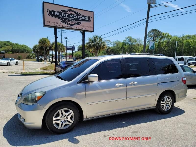 2006 Honda Odyssey for sale at Trust Motors in Jacksonville FL