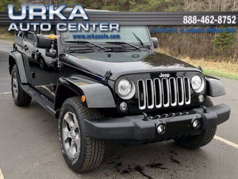 2017 Jeep Wrangler Unlimited for sale at Urka Auto Center in Ludington MI