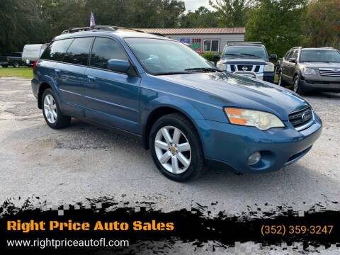 2006 Subaru Outback for sale at Right Price Auto Sales-Gainesville in Gainesville FL