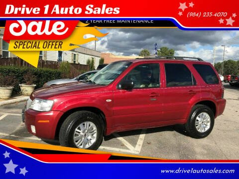 2005 Mercury Mariner for sale at Drive 1 Auto Sales in Wake Forest NC