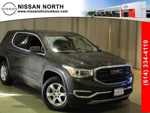 2017 GMC Acadia for sale at Auto Center of Columbus in Columbus OH